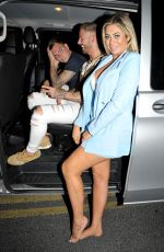 Chloe Ferry At Night Out in Blackpool
