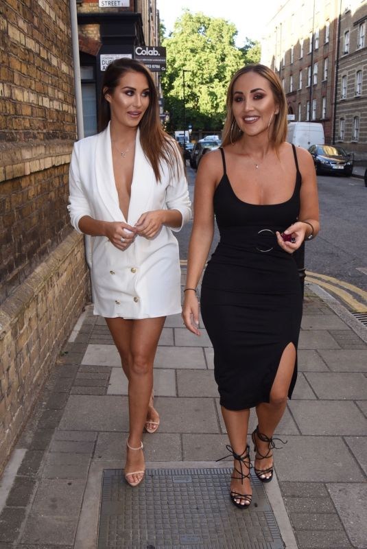 Chloe Goodman & Lauryn Goodman Seen out in London