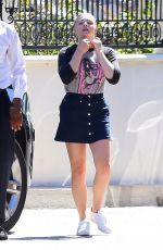 Chloe Moretz At The Four Season in Beverly Hills