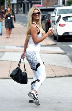 Christine McGuiness At Gym and Juice in Cheshire