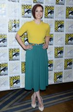 Chyler Leigh At Photocall during 2018 San Diego Comic-Con in California