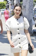 Crystal Reed Goes shopping in Los Angeles
