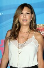 Daisy Fuentes Ay On Your Feet The Story of Emilio & Gloria Estefan Premiere in Hollywood