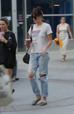 Dakota Johnson Starts the weekend with a movie at the Arclight with a friend in Hollywood