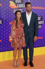 Danica Patrick At Nickelodeon Kids