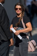 Danica Patrick Is Seen At Jimmy Kimmel Live in Los Angeles