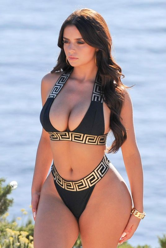 Demi Rose In bikini shoot in Ibiza