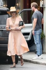 Donna Air Out and about, Chelsea, London, UK