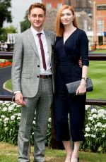 Eleanor Tomlinson At The Moet & Chandon July Festival, Day 1, Ladies Day, The July Course, Newmarket Racecourse, UK