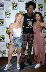 Emily Bett Rickards At Day 3 of Comic-Con in San Diego