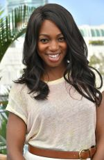 Enuka Okuma At Variety Studio Comic-Con, Day 1