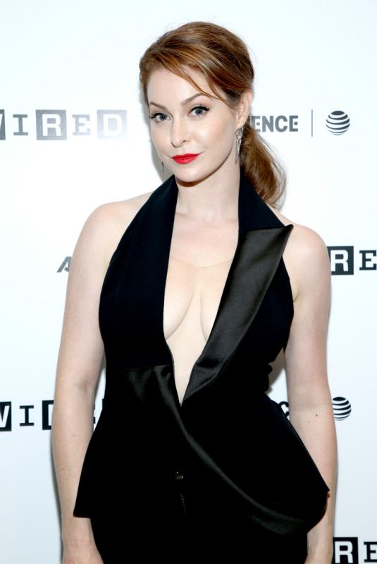 Esme Bianco At 2018 WIRED Cafe At Comic Con in San Diego