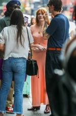 Florence Welch Catches up with friends in New York City