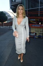 Gemma Merna Attenending The Umbrella Charity Ball at The Radisson Blu Hotel in Manchester