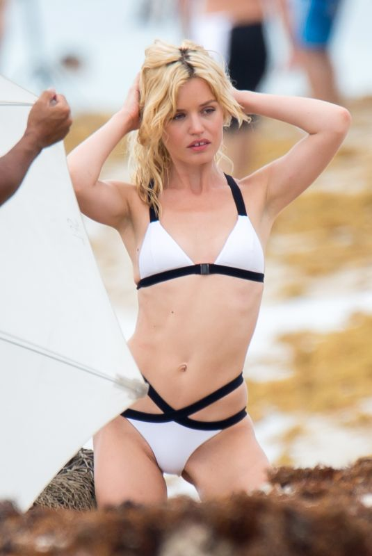Georgia May Jagger During a photo shoot in Miami Beach