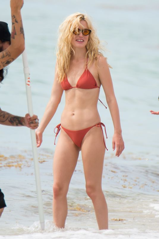 Georgia May Jagger Is Seen During A Photo Shoot In Miami Beach