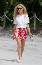 Georgia May Jagger Out and about in Miami Beach