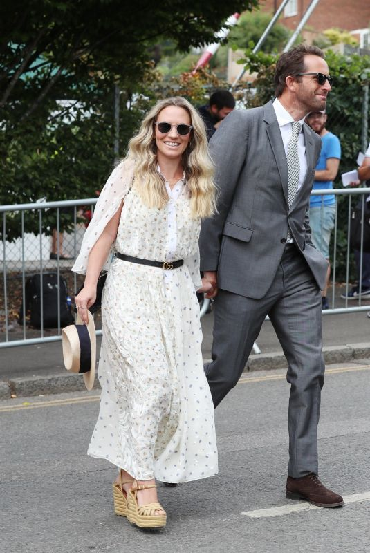 Georgie Thompson On day seven at The 2018 Wimbledon Tennis Championships in London