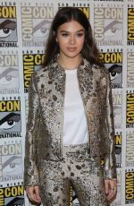 "Hailee Steinfeld At The ""Bumblebee"" Red carpet during Comic-Con in San Diego"