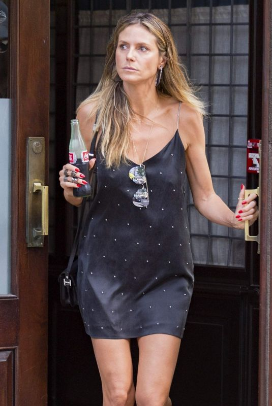Heidi Klum Out and about in New York City
