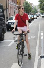 Hilary Rhoda Out and about in New York City