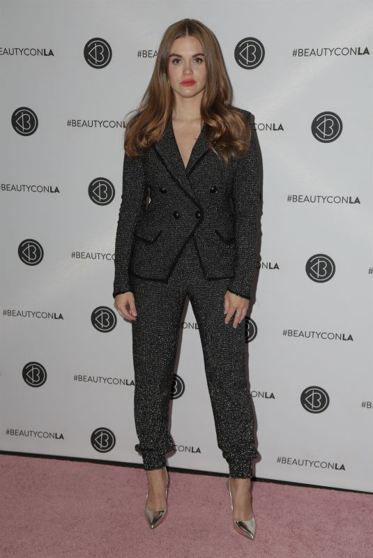 Holland Roden At Los Angeles Beautycon Festival, Day 2
