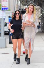 Ireland Baldwin and her cousin Alaia Baldwin Were spotted out and about as they stepped out in Midtown New York