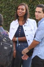 Jasmine Tookes Spends her 4th of July at Nobu for the Bootsy Bellows party in Malibu