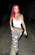 Jemma Lucy At Night Out in London