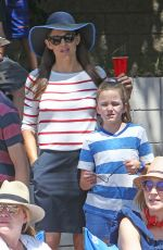 Jennifer Garner At the annual 4th of July parade in Pacific Palsades