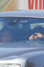 Jennifer Lopez and Benny Medina Have a lunch meeting at Nobu Malibu