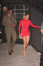 Jennifer Lopez Heads to dinner in West Hollywood