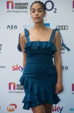 Jorja Smith At Nordoff Robbins O2 Silver Clef Awards, Grosvenor House, London, UK