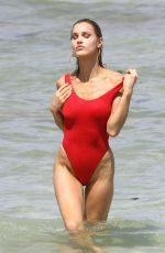 Joy Corrigan Spotted doing a photoshoot in Miami Beach