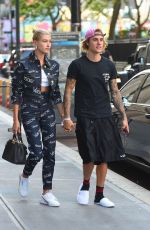 Justin Bieber & Hailey Baldwin Out and about in New York