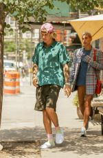 Justin Bieber & Hailey Baldwin Went for lunch in New York City