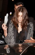 Kaia Gerber Leaving the Vogue dinner in Paris during the Fashion week 2018 in Paris, France