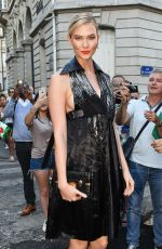 Karlie Kloss At Vogue Foundation Party during Haute Couture Week in Paris, France
