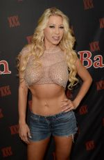 Katie Morgan At The EXXXOTICA Expo at the Miami Airport Convention Center, Florida