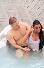 Katie Price During a romantic weekend away in Glasgow