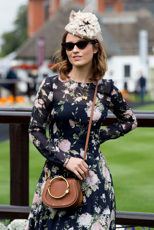 Kelly Eastwood At The Moet & Chandon July Festival, Day 1, Ladies Day, The July Course, Newmarket Racecourse, UK
