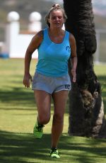 Kerry Katona At The Holistic Body Camp in Marbella