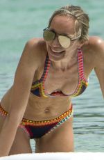 Kristen Pazik Enjoying a day on the beach in Barbados