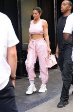 Kylie Jenner and Travis Scott go shopping at the Chrome Hearts store in the West Village in New York City