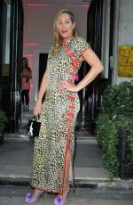 Laura Pradelska At The GHD x Lulu Guinness joint collection launch party in London