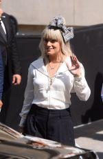 Lily Allen Attending the Chanel fashion show during the Paris Fashion Week in Paris