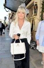 Lily Allen Leaving the Hotel Le Bristol in Paris