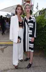 Lisa-Marie Koroll Attends the Marina Hoermanseder fashion show during the Mercedes-Benz Fashion Week in Berlin