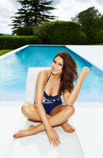 Lisa Snowdon Modeling her latest swimwear campaign for JD Williams