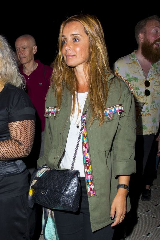 Louise Redknapp At the British Summer Time Festival in Hyde Park London